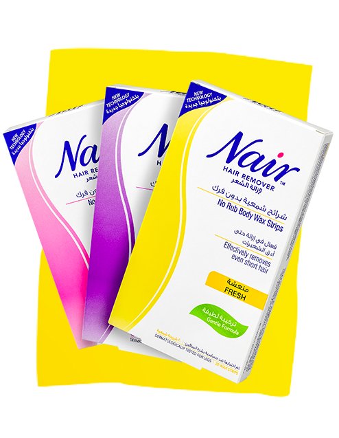 nair waxes products