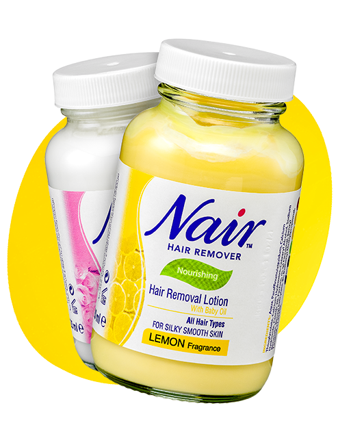 nair lotion products