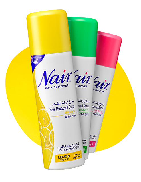 nair spray products