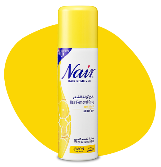NAIR™ LEMON HAIR REMOVAL SPRAY