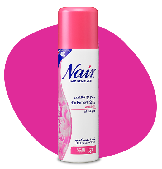 NAIR™ ROSE HAIR REMOVAL SPRAY