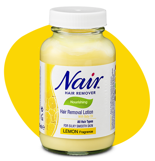 NAIR™ LEMON HAIR REMOVAL LOTION